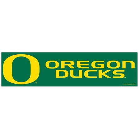 Oregon Ducks Bumper Sticker - Alt (Oregon Ducks Stickers)
