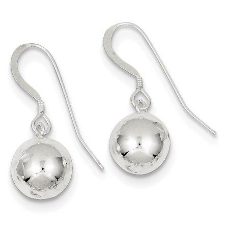 Beaded Chandelier Dangle - 925 Sterling Silver 10mm Bead Drop Dangle Chandelier Earrings Gifts For Women For Her