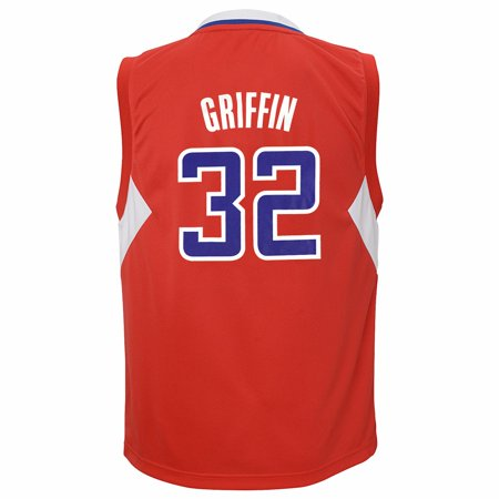 Blake Griffin Los Angeles Clippers Nba Adidas Red Official Away Road Replica Basketball Jersey For Youth