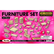 3D Puzzles - Furniture Set Lr
