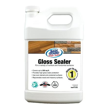 Rainguard Premium Gloss Sealer, 1 Gal (Cup Sealer Film)