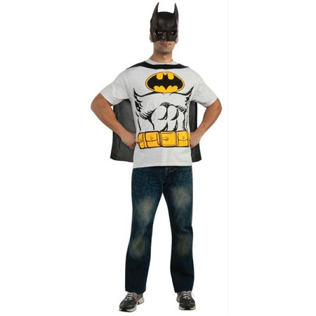 Costumes For All Occasions Ru880471Lg Batman Shirt Large](Batman Gauntlets For Sale)