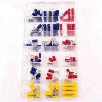 Calterm 5101 Solderless Terminal Kit, 80 Pieces