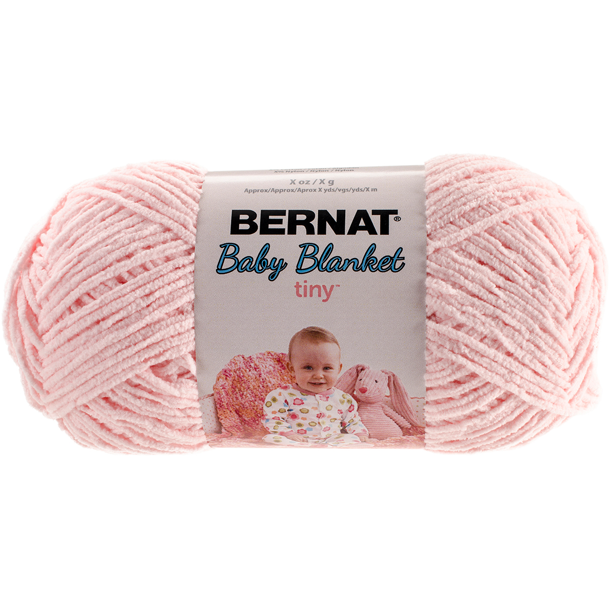 Baby Blanket Tiny Yarn-Hush Pink