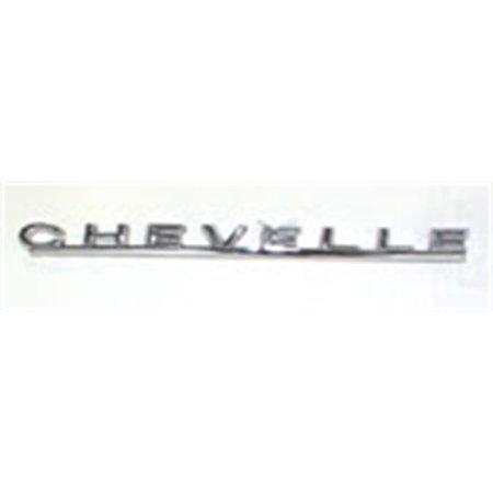 Chevelle Emblem (Trim Parts 4410 Reproduction Hood Emblem for 1967 Chevelle)