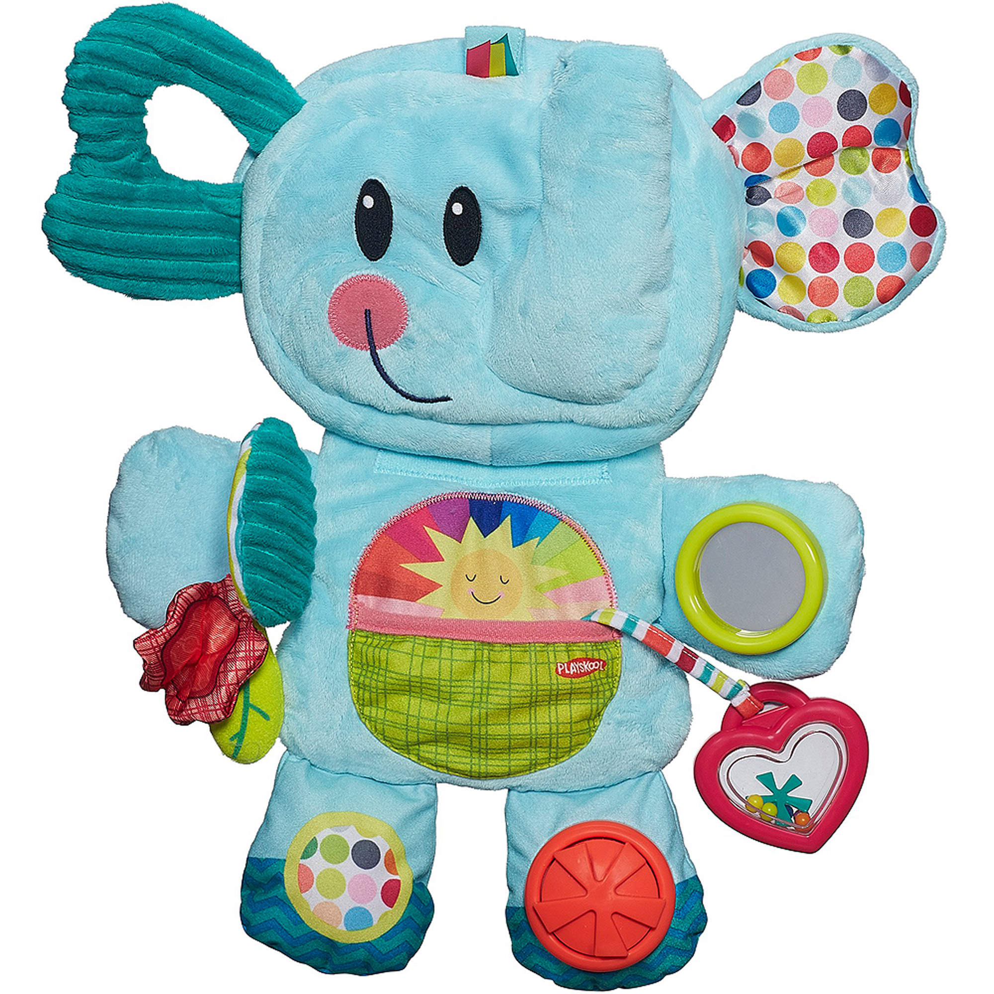 Playskool Fold 'n Go Busy Elephant, Blue by Playskool