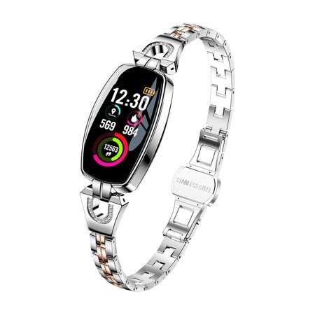 Women Fashion Waterproof Bluetooth Smart Watches Bracelet Watch Lady Smartwrist Gifts For Android Ios