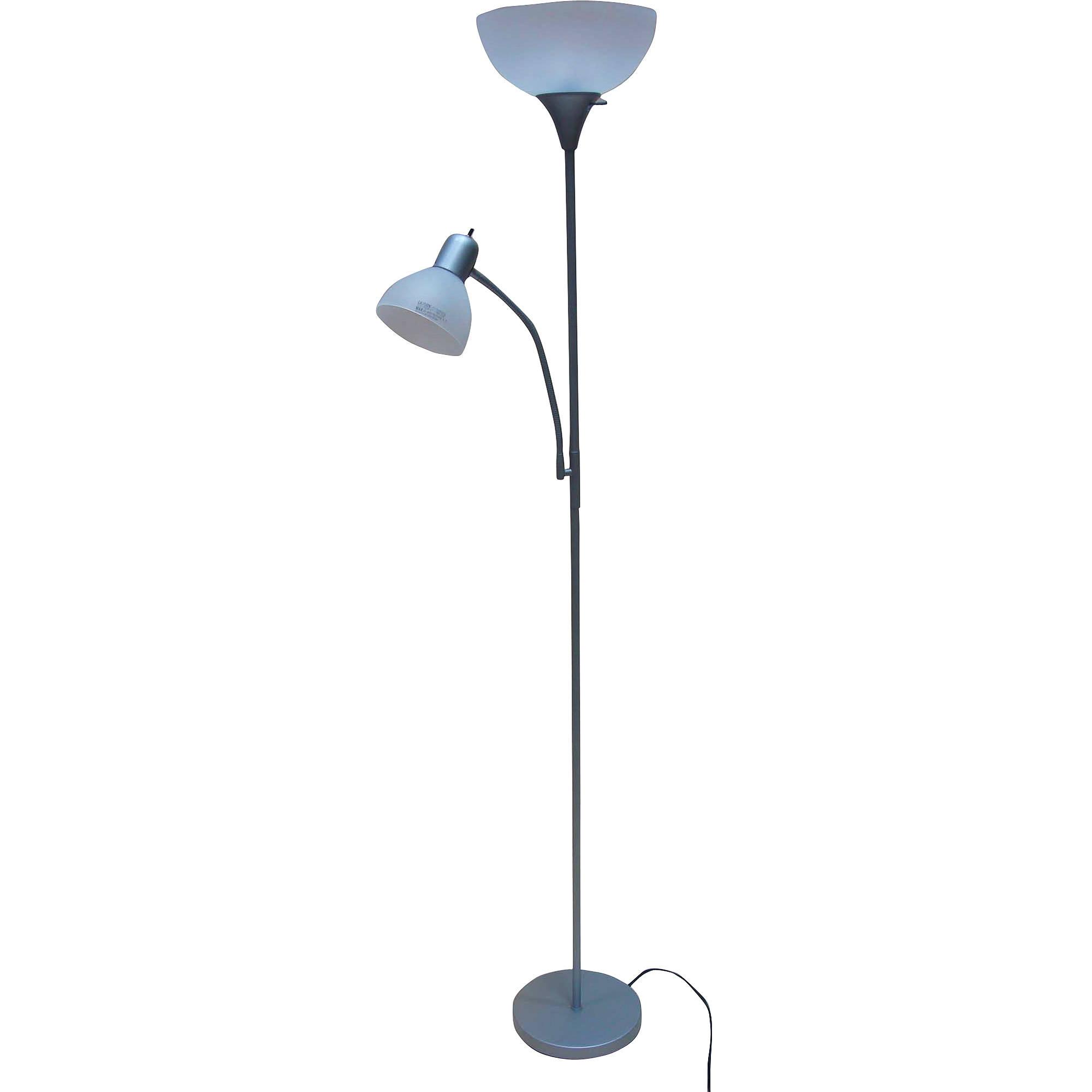 Mainstays 72'' Combo Floor Lamp