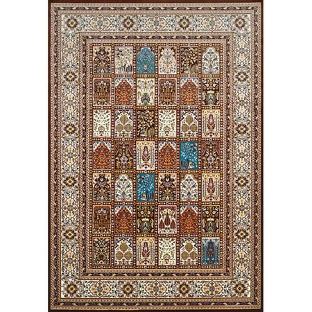 United Weavers Of America Antiquities Mecca Brown Beige Area Rug