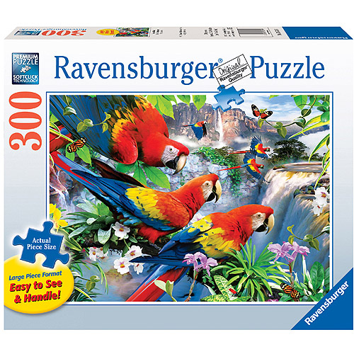 Ravensburger Tropical Birds Large Format Puzzle, 300 Pieces