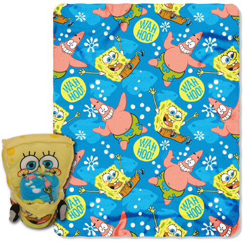 Nickelodeon SpongeBob Wahoo Hug Fleece Hugger