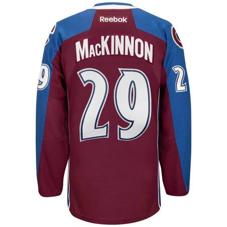 sports shoes dcc18 e3677 Nathan MacKinnon Colorado Avalanche Reebok Premier Replica Home NHL Hockey  Jersey - image 1 of 2 ...