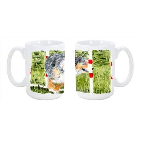 Australian Shepherd Dishwasher Safe Microwavable Ceramic Coffee Mug 15 (Best Price Coffee Machines Australia)