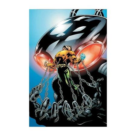 Finest Art - Justice League Black Manta Art Print | DC World's Finest Collection Exclusive | Comic Art