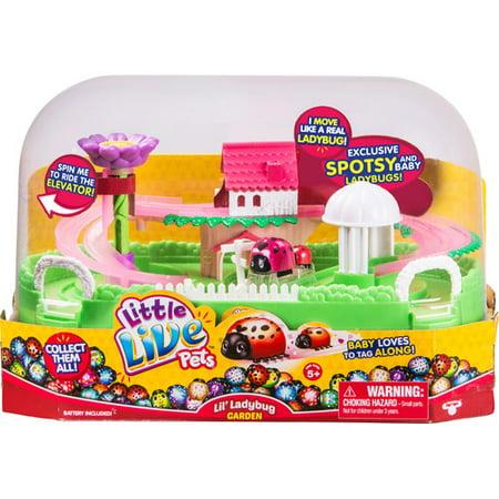 45a6bdef4008 Little Live Pets Ladybug Garden Playset - Walmart.com