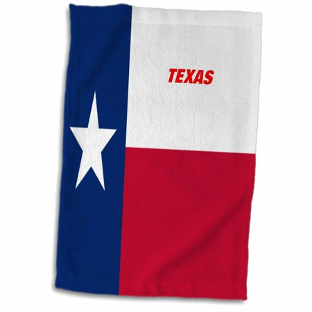 3dRose State Flag Of Texas - Towel, 15 by 22-inch