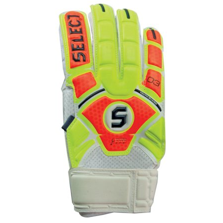 Select 3 Guard Finger Protection Youth Soccer Goalie Gloves ()