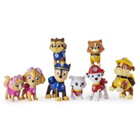 PAW Patrol, Kitty Catastrophe Gift Set with 8 Collectible Figures, for Kids Aged 3 and up
