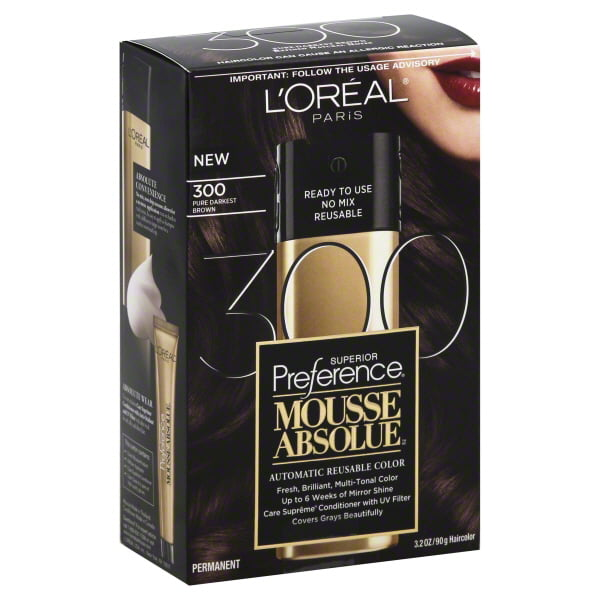L'Oreal Paris Superior Preference Mousse Absolue Hair Color