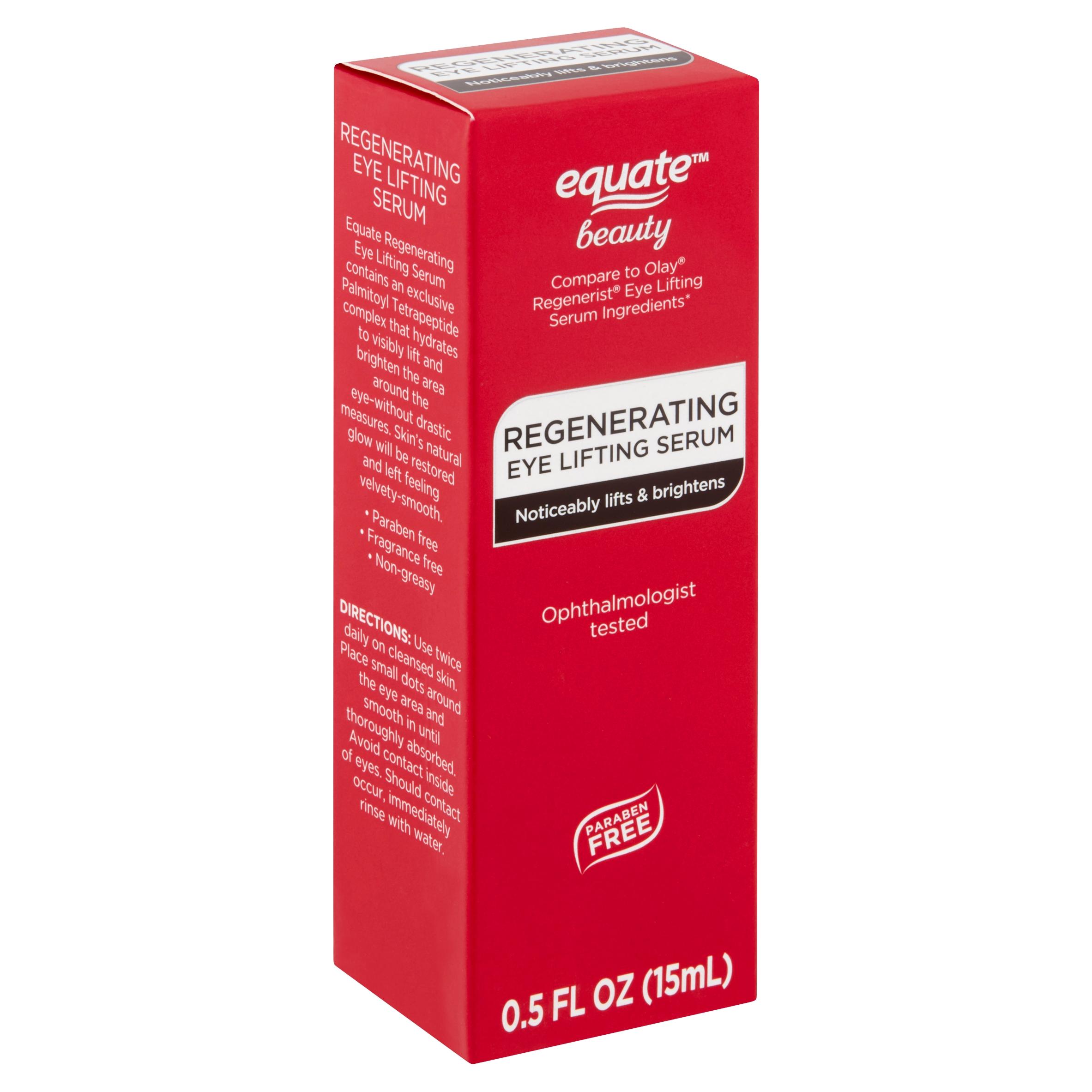 Equate Beauty Regenerating Eye Lifting Serum, 0.5 fl oz