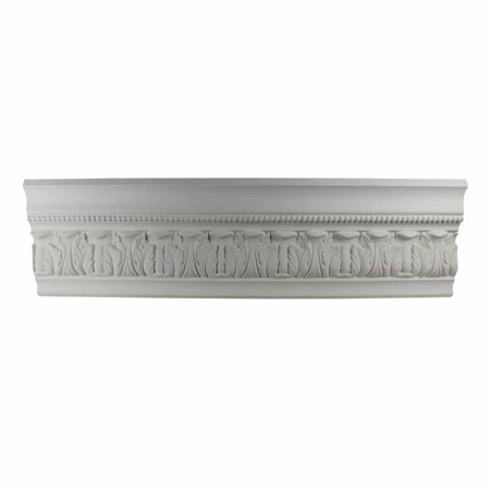 Cornice White Urethane Sample of 11578 24 Long