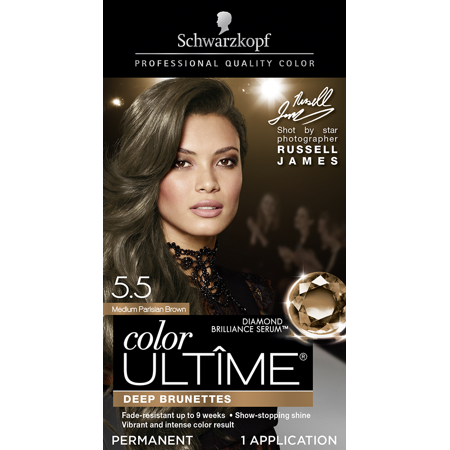 Schwarzkopf Color Ultime Permanent Hair Color Cream, 5.5 Medium Parisian