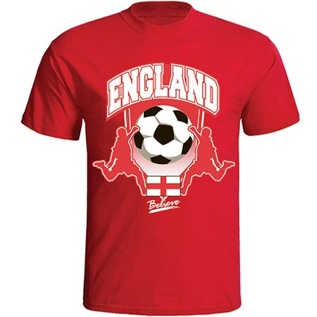 England Soccer Red T-Shirt