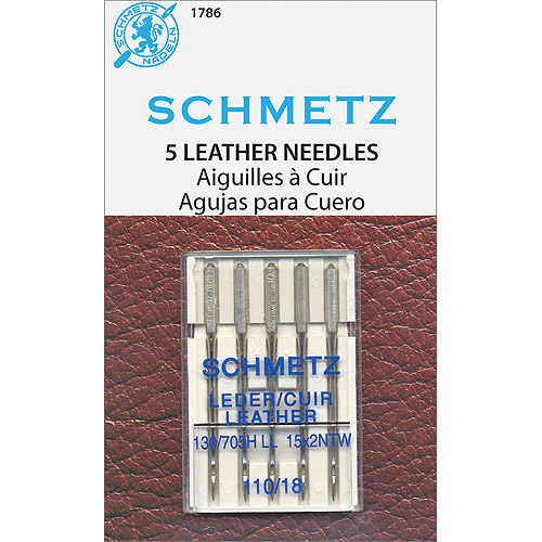 Leather Machine Needles-Size 18/110 5/Pkg