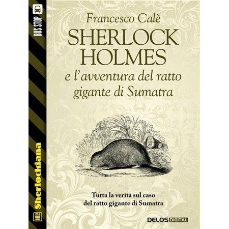 Sherlock Holmes e l'avventura del ratto gigante di Sumatra - eBook
