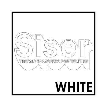 Siser Easyweed White Iron Heat Transfer Vinyl Roll HTV (Choose Your Size)