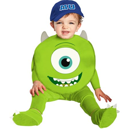 Monsters University Classic Mike Infant Halloween (Men's Cookie Monster Halloween Costume)