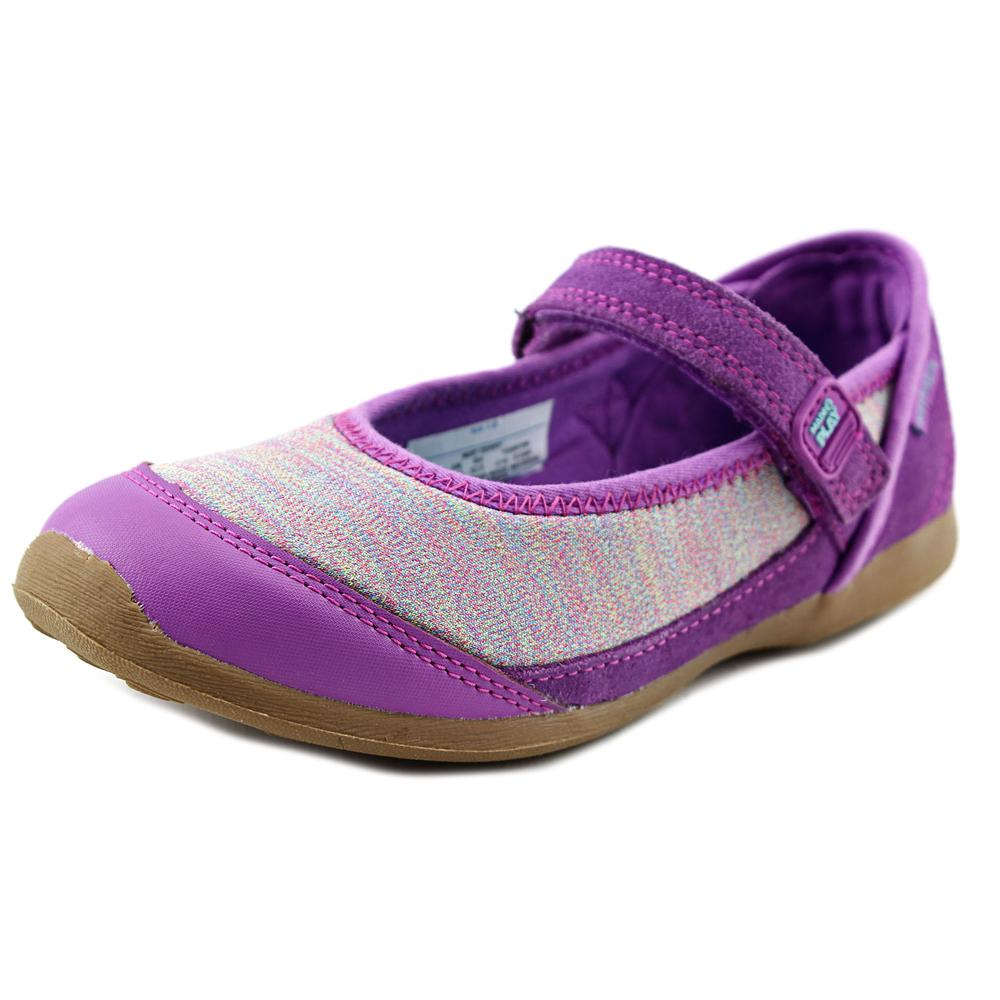 Stride Rite M2P Terry Youth  Round Toe Synthetic Purple Mary Janes