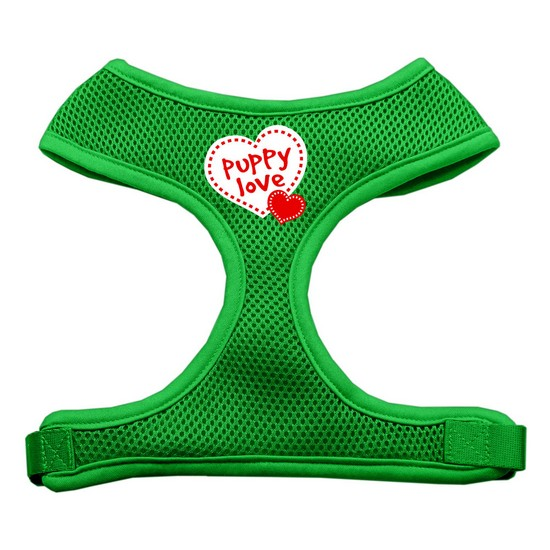 Puppy Love Soft Mesh Harnesses Yellow Large