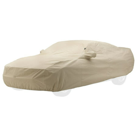 Technalon Ready Fit Cover (Covercraft Custom Fit Car Cover for Dodge Challenger (Technalon Evolution Fabric, Tan) )