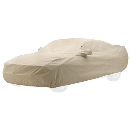 Covercraft Custom Fit Car Cover for Chevrolet and Pontiac (Technalon Evolution Fabric, Tan)