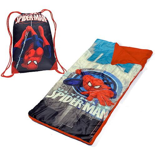 Marvel Spider-Man Toddler Slumber Duffle Nap Mat