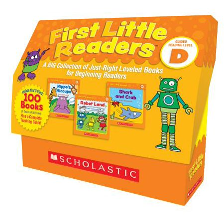 First Little Readers: Guided Reading Level D : A Big Collection of Just-Right Leveled Books for Beginning Readers - Level D