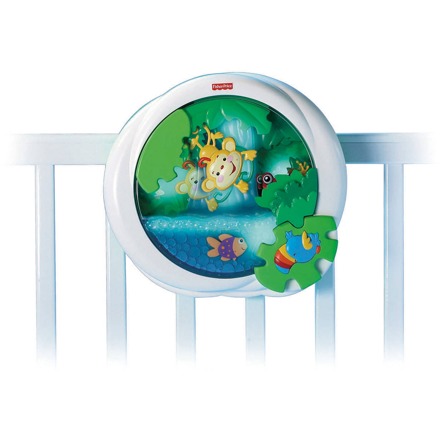 Fisher Price Rainforest Peek-a-Boo Waterfall Soother by Fisher-Price