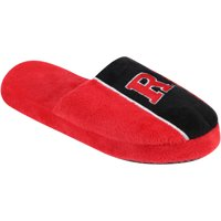 Rutgers Scarlet Knights Youth Big Logo Stripe Slippers