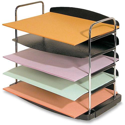 Buddy Trio Line 5-Tier Horizontalontal Desk Tray
