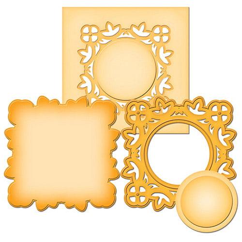 Spellbinders Shapeabilities Die D-Lites, Medallion 2