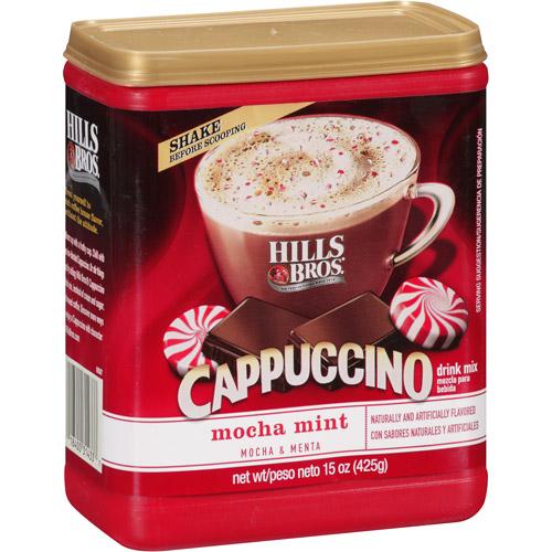 Hills Bros Mocha Mint Cappuccino, 15 oz