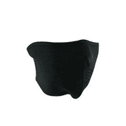 HALF MASK, NEOPRENE, OVERSIZED, BLACK