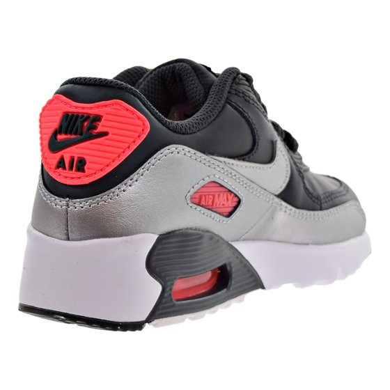 f1f0adf23d00 Nike - Nike Air Max 90 Leather Little Kids (PS) Shoes Anthracite Metallic  Silver 833377-009 - Walmart.com