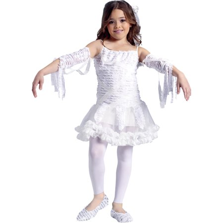 Mummy Kids Costume - Morris Costumes Tutu Mummy Child 4-6, Style , FW110582SM