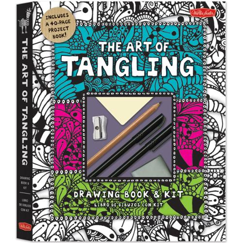 Quarry Books-The Art Of Tangling Drawing Book & Kit