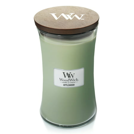 (WoodWick Large Hourglass Candle, Applewood)