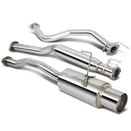 For 2001 to 2005 Honda Civic Catback Exhaust System 4