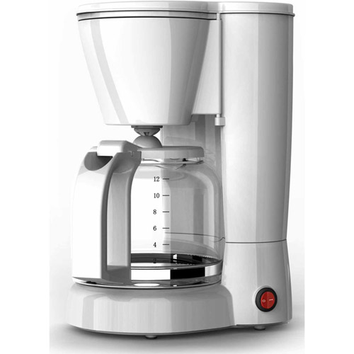 Melitta 12-Cup Coffee Maker, White