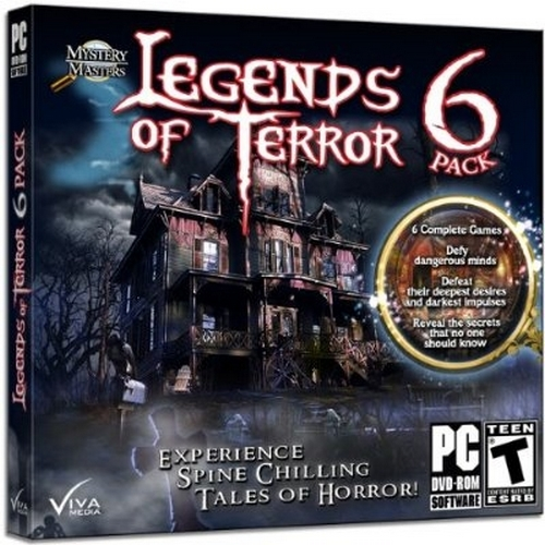 Legends of Terror, 6 Pack